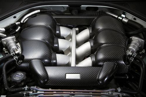 Nissan VR38DETT Corazón del GT-R35